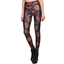 New Arrival 3634 Sexy Girl Women SpellBound ouija sun moon Crafty 3D Prints Elastic Fitness Polyester Walking Leggings Pants