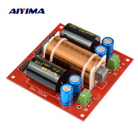 AIYIMA Multifunction Divider Crossover Filter 350W Audio Speaker Mid bass Bass SubWoofer Frequency Divider DIY For Home Theater
