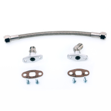 Kinugawa Turbo Oil Drain Line Kit 50cm 10AN for Garrett T3 T4