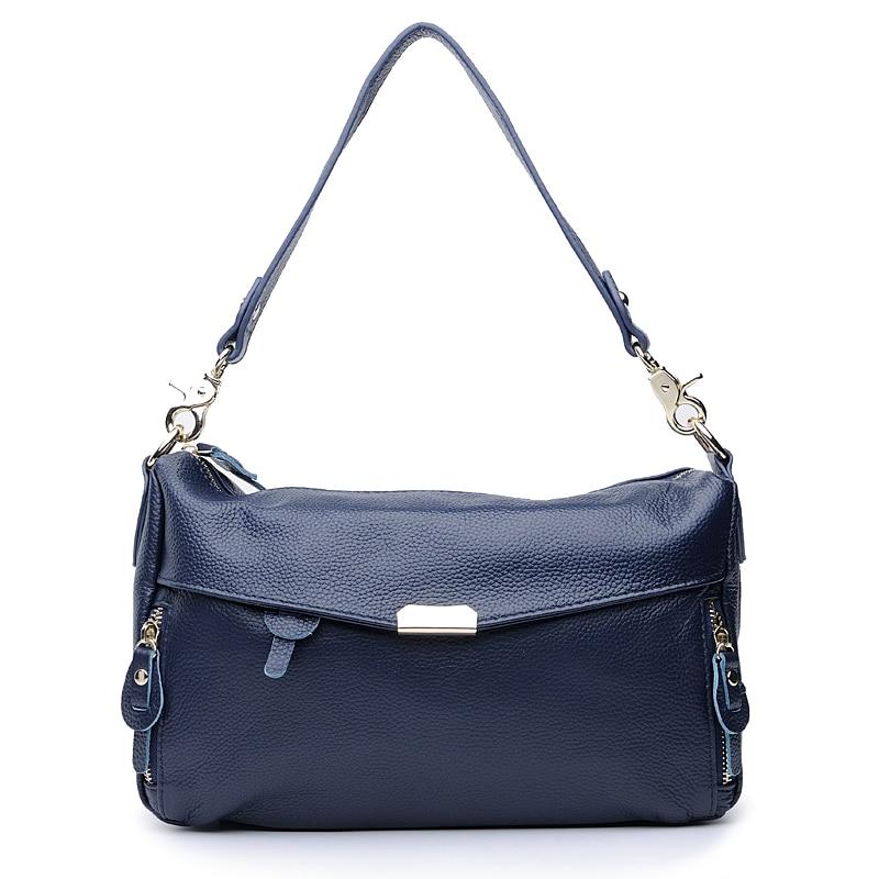 Fashion women's handbag bag all-match messenger bag shoulder bag first layer of cowhide women's handbag genuine leather bag
