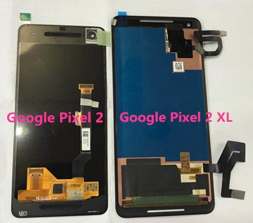 D'origine Axisinternational Pour HTC 6.0 Google Pixel 2 XL 5.0 Google Pixel 2 LCD écran affichage + tactile panneau digitizer avec outil