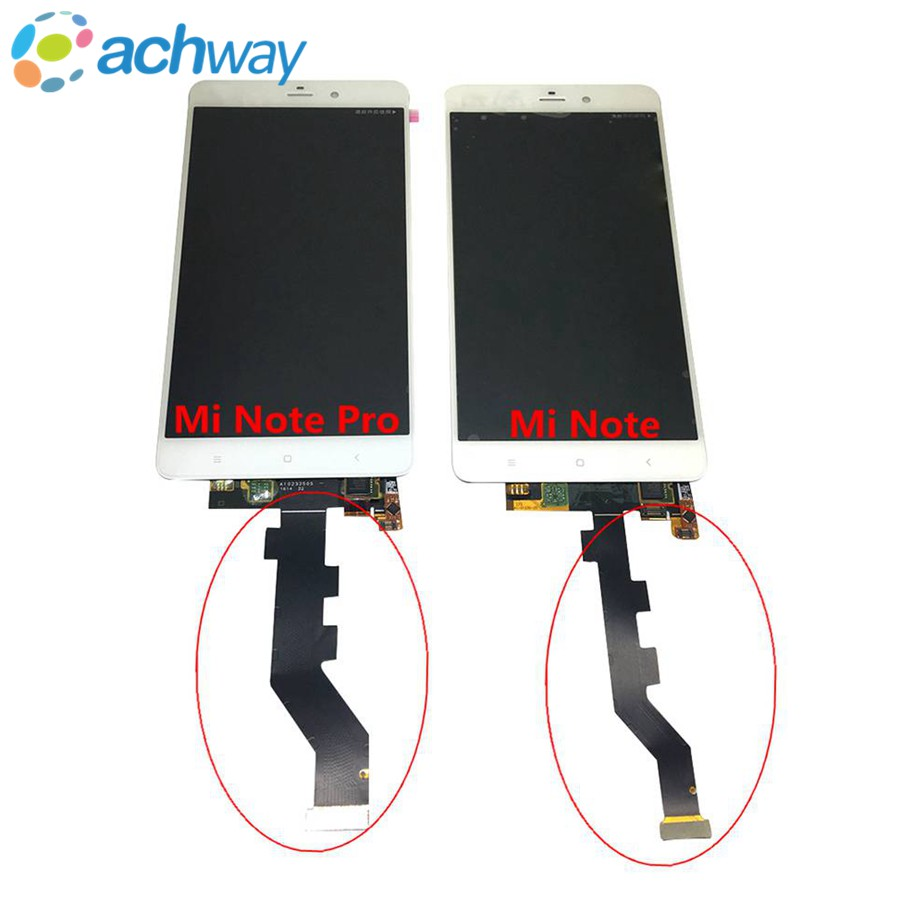 Prix pour Pour Xiaomi Mi Note LCD Affichage à L'écran Tactile Digitizer Assemblée Pour Xiaomi Mi Note Pro LCD Display Pièces De Rechange