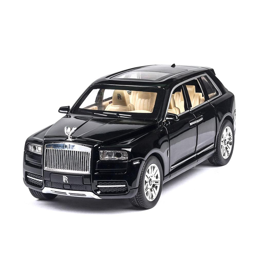 1/24 Children Off-road Vehicle Simulation Alloy Sound and Light Car for Kids