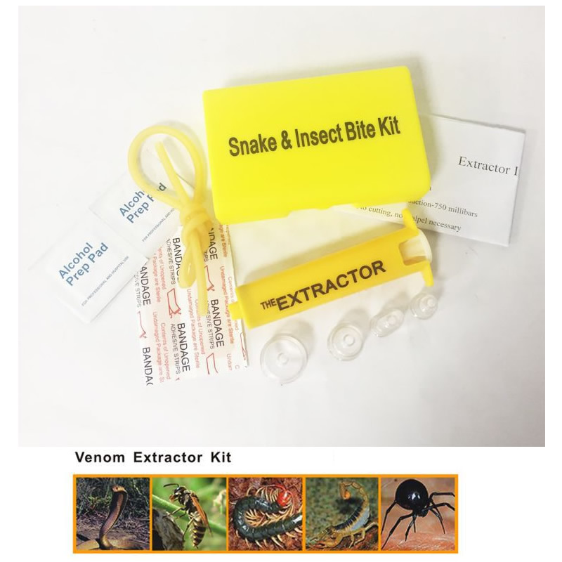 Portable Outdoor Venom Extractor Snake Insect Bite Emergency Wound Treatment Kit For Outdoor Camp First Aid Kit Dropshipping