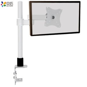 "Image 3 - Escritorio 14 27 ""LCD Monitor LED brazo de movimiento completo montaje en poste brazo Monitor LCD TV abrazadera montaje carga máxima 6,5 kg"