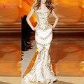 Lindo Sereia Vestidos Longos de Baile 2017 Mais Recente Moda Vestidos de Noite Vestido De festa Vestidos de Festa Importante Z824