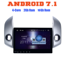 Quad core Android 7.1 car radio gps player for toyota rav4 2006-2012 with 2G RAM wifi 4G USB radio RDS audio stereo SAT