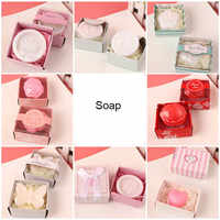20pcs/lot Wedding Favor Rose Shaped Scented Soap Favors for Party Decoration And Baby Show