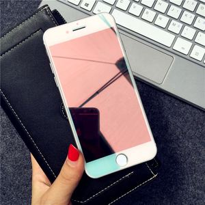 Image 5 - מראה מזג זכוכית עבור iPhone X XR XS מסך מגן זכוכית עבור iPhone 6 6s 7 8 בתוספת 11 12 פרו מגן זכוכית משמר כיסוי