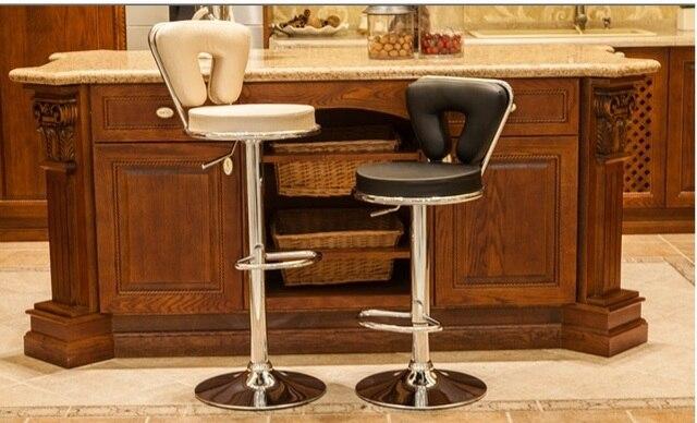 European Country Bar Lift Chair Blue Red Orange Purple Retail KTV Shop  Information Counter Stool Free