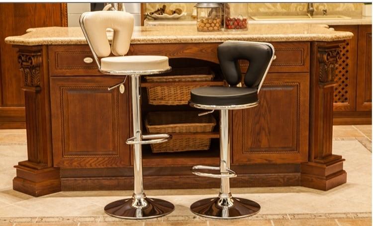 European country bar lift chair blue red orange purple retail KTV shop information counter stool free shipping
