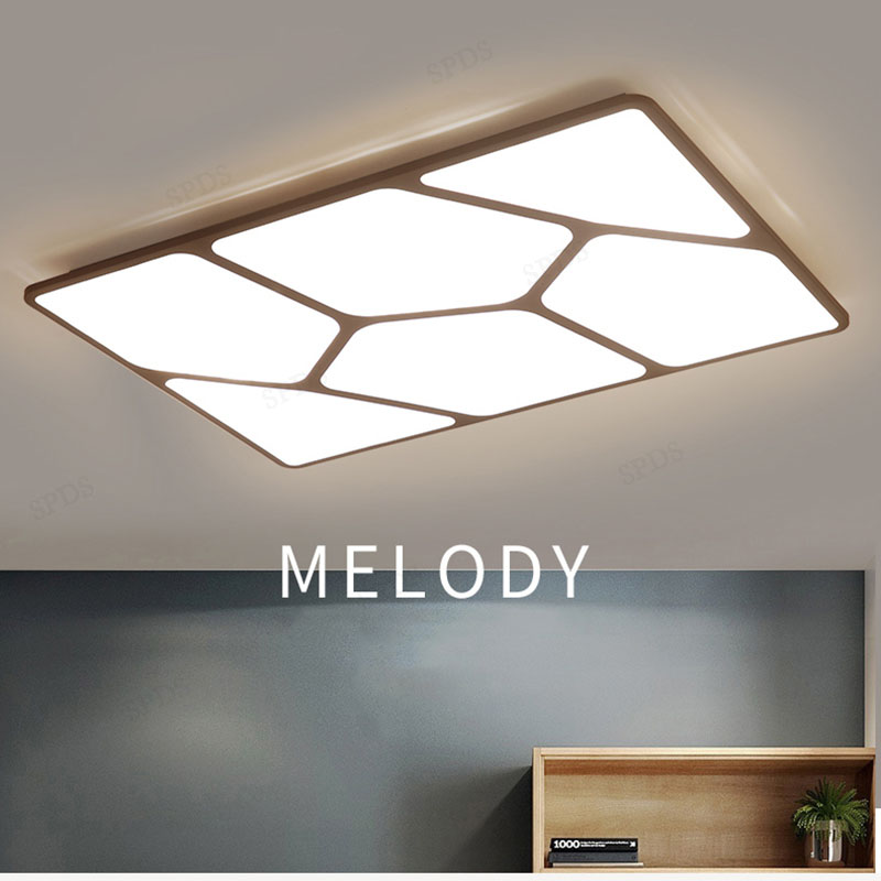 Nordic light guide indoor wrought iron acrylic surface mounted Remote Control ceiling light lamparas de techo LED ceiling lights modern acrylic wrought iron dish impossible series interior lighting lamparas de techo ceiling light fixtures led surface mounte