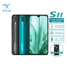"LEAGOO S11 6.3"" 4GB RAM 64GB ROM Waterdrop Screen smartphone Helio P22 Octa Core Android 9.0 Fingerprint ID Mobile Phone"