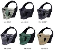 WST skull headgear system outdoor tactical protective equipment camouflage version Human CS