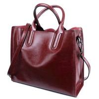 Real Leather Luxury Women Designer Handbags Brand Cowhide Genuine Leather Women Shoulder Messenger Bags Totes Bolsa