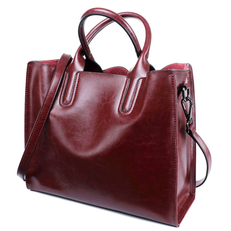 Luxury 100% Genuine Leather Women Handbags Designer Brand Cowhide Real Skin Women Shoulder Messenger Bags Totes Bolsa Feminina dikizfly soft genuine leather women handbags casual totes bag real leather brand work handbag purse elegant messenger bags bolsa