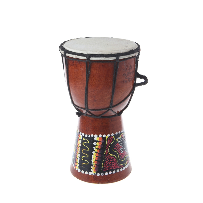 Hand Carved 60cm Djembe Drum World Percussion Quality Bongo Hide Professional