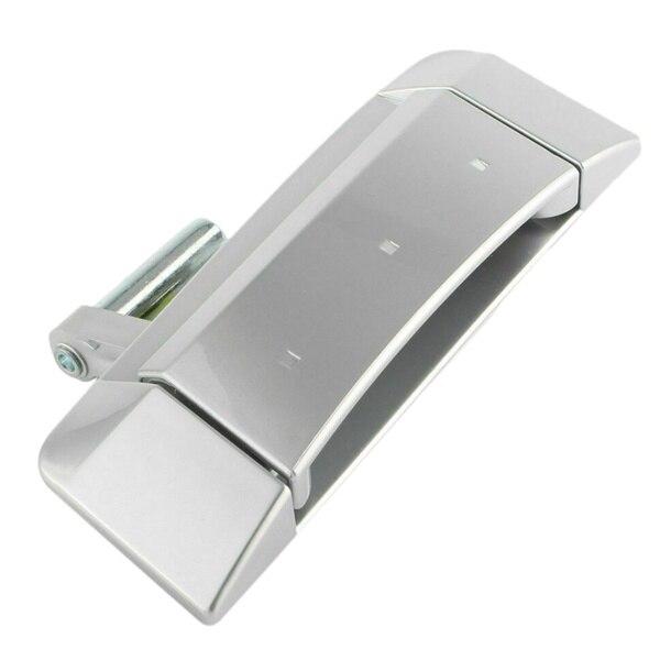 Правая внешняя наружная дверная ручка в сборе подходит для 2003-2009 Nissan 350Z - Цвет: Silver
