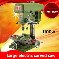 New Arrival ZXJ7032 Large Electric Carved Saws Multi Function Bench Drilling And Milling Machine Drilling Table