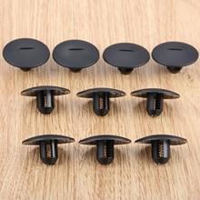 10Pcs 자동 패스너 스트라이프 카펫 스트랩 클립 클램프 맞는 푸조 408 307 206 시트로엥 C5 C2 플라스틱 패스너