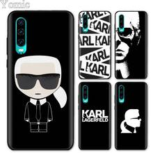 karl lagerfeld Black Soft Case for Huawei
