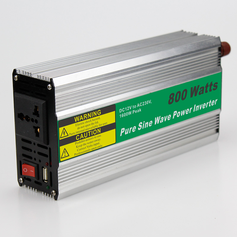 MAYLAR@ 800W mini size Car Power Inverter Converter DC 24V to AC 90-230V Pure Sine Wave Power Solar inverters solar power on grid tie mini 300w inverter with mppt funciton dc 10 8 30v input to ac output no extra shipping fee