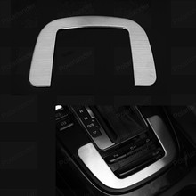 Gear Shift Box Frame Cover car styling For A/udi A4 A5 Q5 2009-2015  Inner Decoration Trim