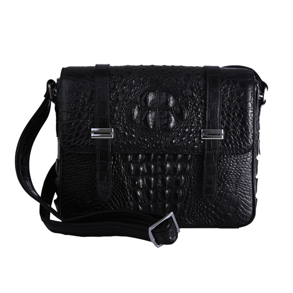 Butterfly Fish High Quality Crocodile Genuine Leather Handbag Laptop Cross Body Shoulder Bag For Male 1000g 98% fish collagen powder high purity for functional food