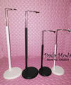 new New black / white doll bracket, doll stands for standing dolls/ monchihichi adjustable accessories