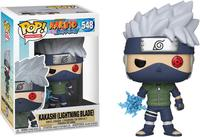 Exclusive Official Funko pop Amine: Naruto Shippuden Kakashi with Lightning Blade Vinyl Action Figure Collectible Model Toy