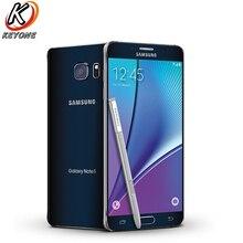 AT & T версия samsung Galaxy note 5 Note5 N920A 4G LTE мобильный телефон 5,7 inch 4 GB Оперативная память 64 Гб Встроенная память Восьмиядерный 16MP Камера одной сим
