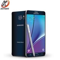 AT&T version Samsung Galaxy note 5 Note5 N920A 4G LTE Mobile Phone 5.7 inch 4GB RAM 64GB ROM Octa Core 16MP Camera Single SIM