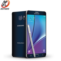 AT&T version Samsung Galaxy note 5 Note5 N920A 4G LTE Mobile Phone 5.7 inch 4GB RAM 64GB ROM Octa Core 16MP Camera Single SIM