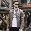 New arrive  motorcycle leather jackets men ,men's leather jacket, jaqueta de couro masculina,mens leather jackets,men coats