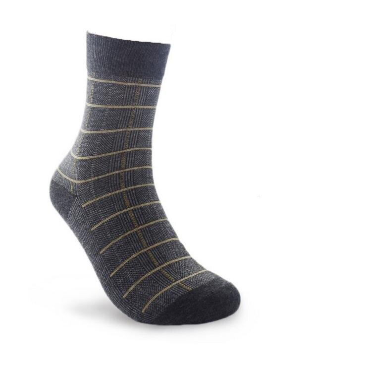 ①10 par/lote hombre puro del algodón calcetines hombres calcetines ...