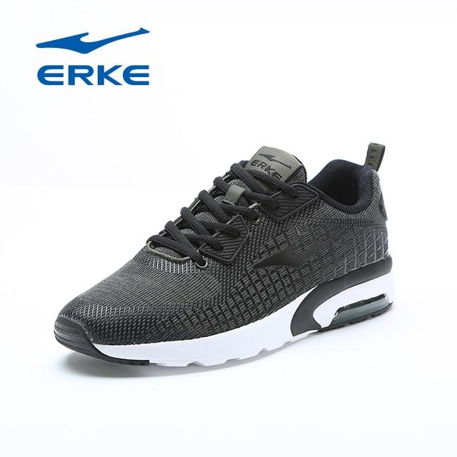 Ерке фирменные горячая Распродажа спортивные туфли для бега трусцой для мужчин 2018 Прогулки Кроссовки половинной длины воздуха Демпфирование обувь для мужчин