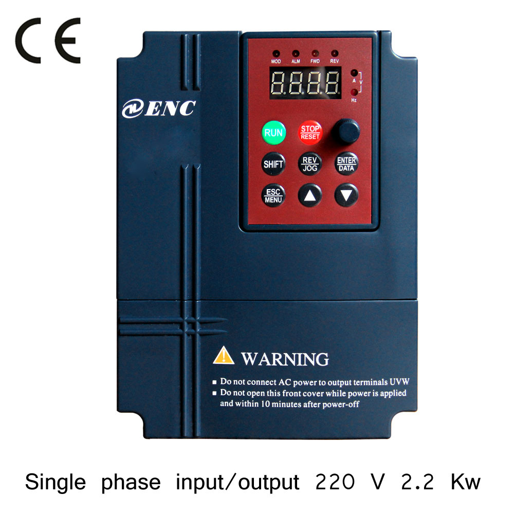 220 v 2 2 kw single phase motor ac drive frequency for Single phase motor drive