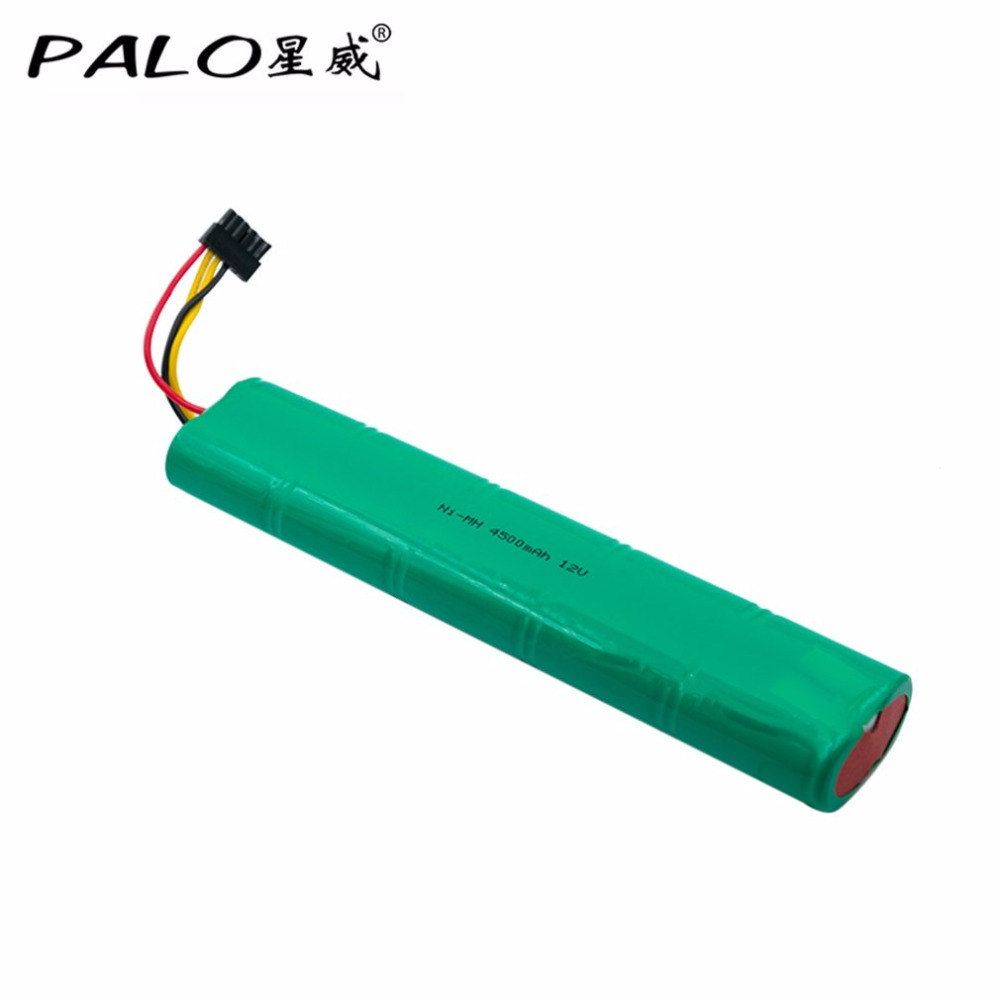 PALO 12V 4500mAh NI MH Sweeping machine Rechargeable Battery For ...