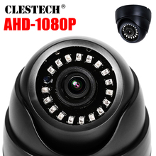 цены Plastic Mini IR Dome Camera NANO LED Board Video Security Camera Indoor CCTV AHD 720P 1080P 1MP 2MP AHD camera 3.6MM lens IRCUT
