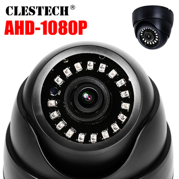 цена на Plastic Mini IR Dome Camera NANO LED Board Video Security Camera Indoor CCTV AHD 720P 1080P 1MP 2MP AHD camera 3.6MM lens IR CUT