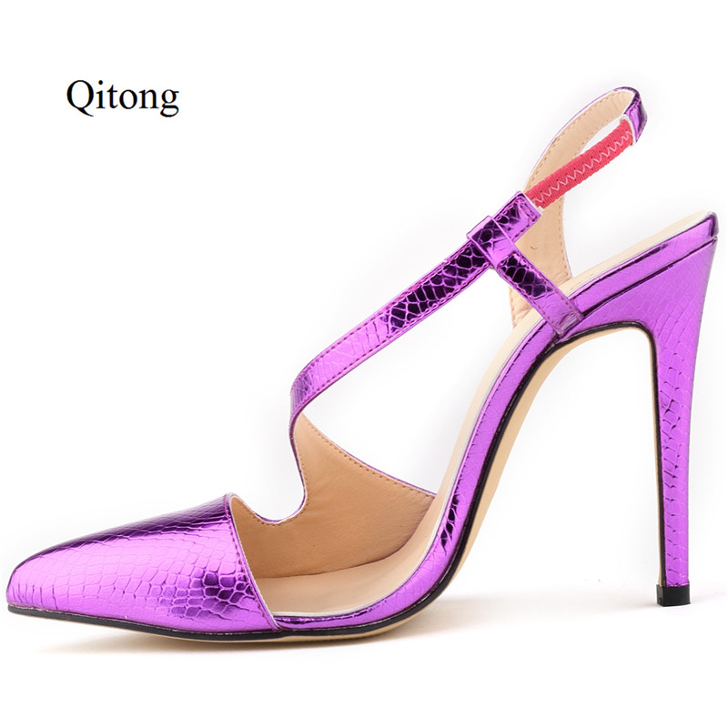 New Summer Sandals Women Peep Toe Thin High Heel Sandals With Crocodile Pattern Sweet Style Woman Shoes For Lady Size Plus 35-43 xiaying smile summer new woman sandals casual fashion shoes wedges heel women pumps bling crystal sweet lady style women shoes