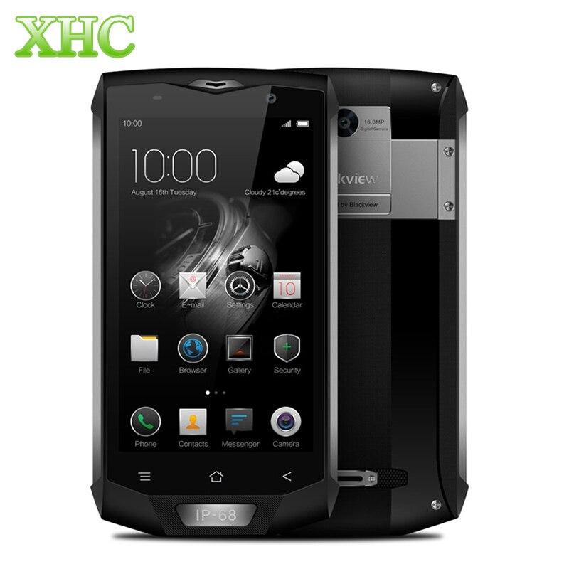 Blackview BV8000 Pro 4180mAh Battery 6GB 64GB 5.0 inch Android 7.0 Smartphone MTK6757 Octa Core Fingerprint id Mobile Phone