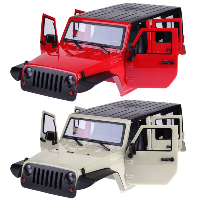 High Quality RC Rock Crawler 1:10 Crawler Car Shell for Axial SCX10 RC4WD D90 D110 Hard Plastic wheelbase 313 mm