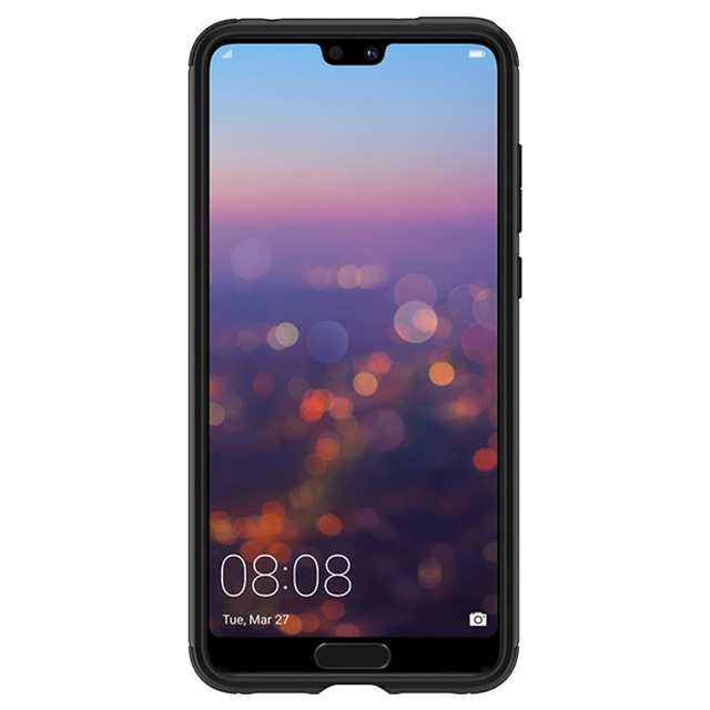 promo code c9fd2 da0d4 US $19.99  100% Original Spigen Huawei P20 Pro Case Marked Armor Black  L23CS24400-in Fitted Cases from Cellphones & Telecommunications on ...