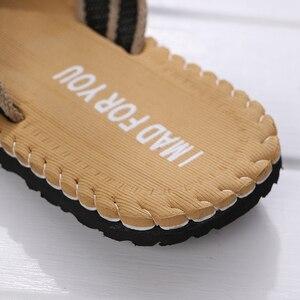Image 3 - 2019 Strand/Home Zomer Schoenen Mannen Slippers Maat 41 44 Ademend Zolen Schoeisel Man Casual Flip Flops designer heren schoenen