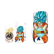 Dragon Ball Waterproof Protective Vinyl Sticker For IQOS 2.4 Plus 2.4p Skins Removable Adhesive Decorative Decal Sticker(China)