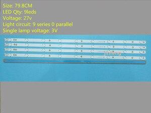 Image 1 - O Sony TV KDL 40R380D 40PFL3240 GJ DLEDI (Nuevo Kit) 4 PCS 9LED 798mm tira de retroiluminación LED fI P5 400 D409 V7 TPT400LA J6PE1