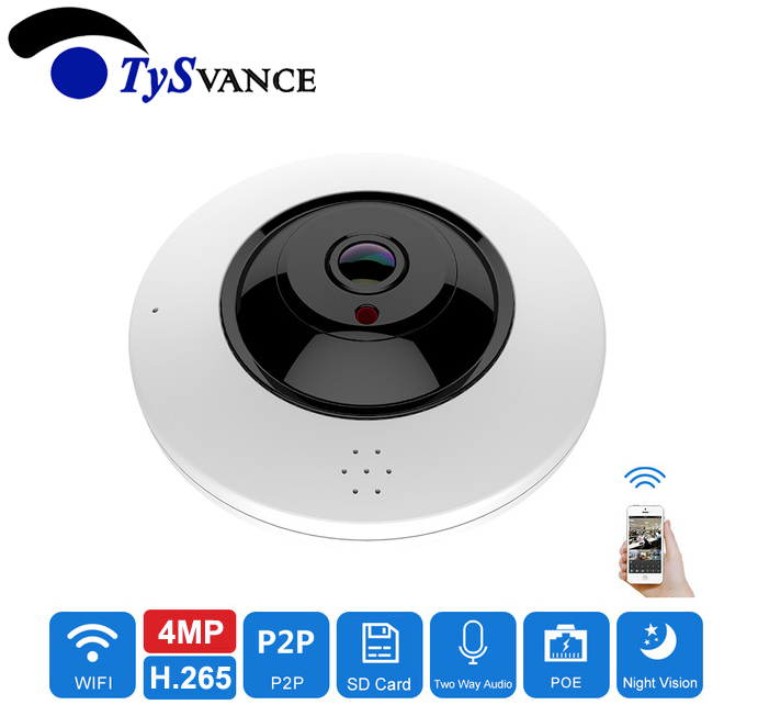 Fisheye VR Panoramic HD 4MP 12MP Wireless Wifi Dome IP Camera Indoor Home Security Surveillance Camera 360 Degree Webcam P2P цена и фото