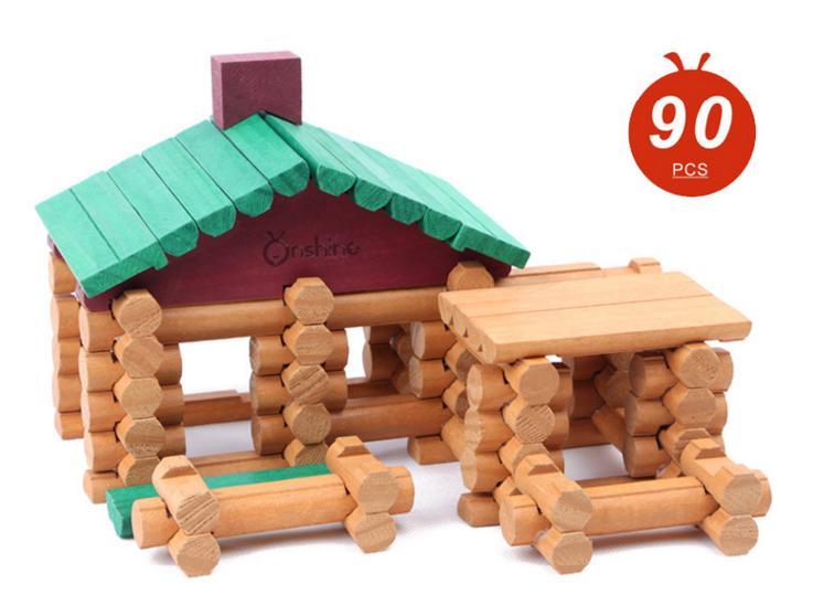 Aliexpress Com Buy Children Brand Wooden Cabin Assemble