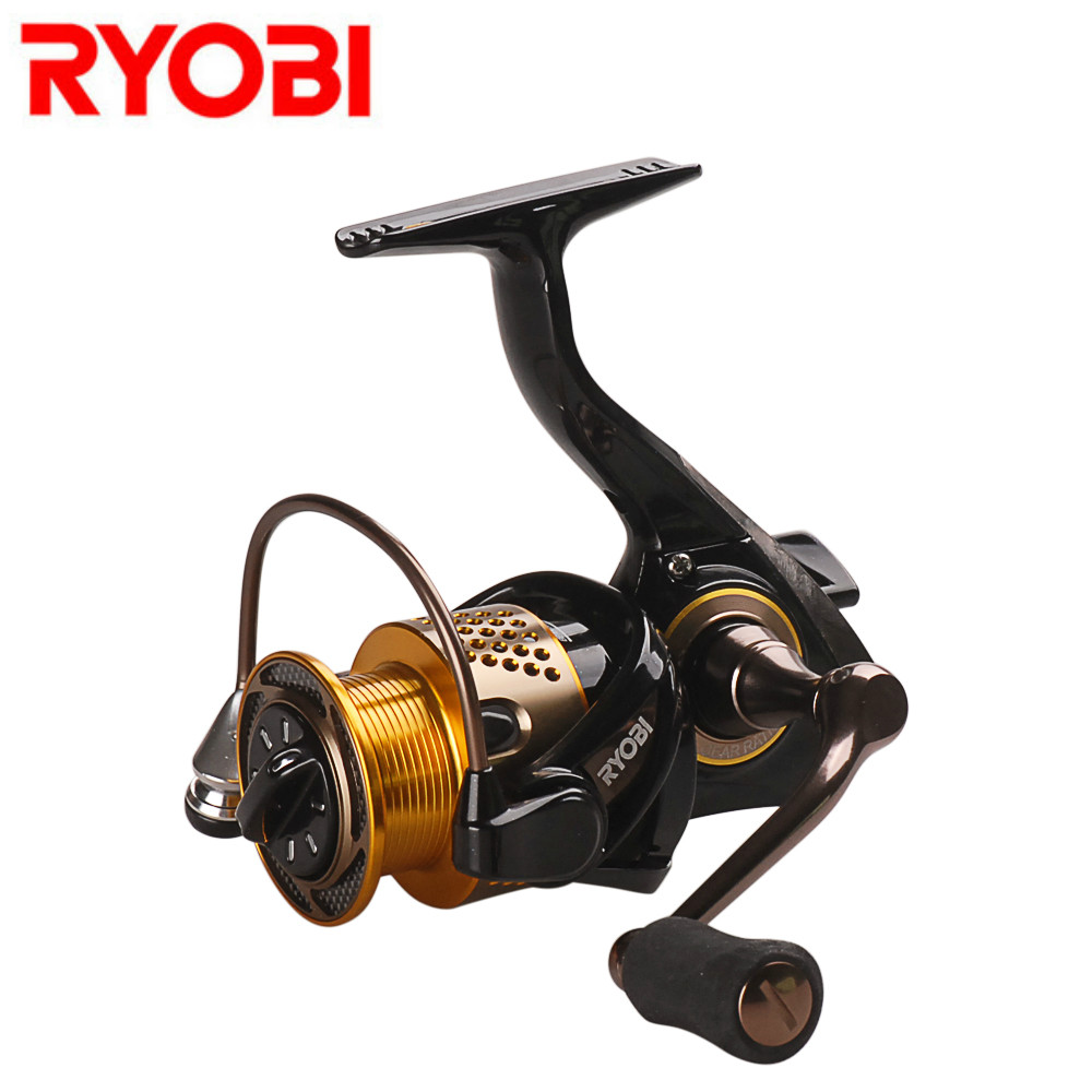 RYOBI Spinning Reel 1000 2000 3000 4000 5000 6000 5.1:1/5.0:1 Spinning Wheel Fishing Tackle for Carp Fishing Molinete De Pesca seashark salt water spinning fishing reel 1000 2000 3000 4000 5000 6000 7000 spinning wheel max drag force 12 5kg copper gear